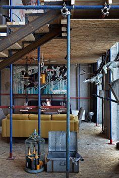 restaurant club interior - door19 - moscow russia - artKvartal