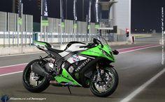 Kawasaki Ninja 1000 ZX-10R Race Club by SAMUXX.deviantart.com on @DeviantArt