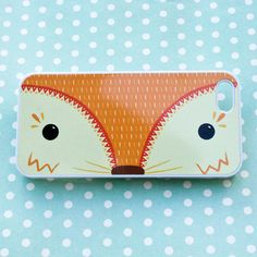 woodland fox iphone case by joanne hawker | notonthehighstreet.com