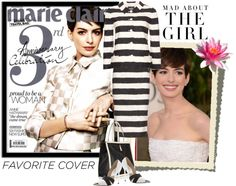 """Anne Hathaway Marie Claire Indonesia April 2013"" by elegancerules ❤ liked on Polyvore"