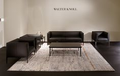Walter Knoll | Jaan - sofa + armchair + table | design EOOS