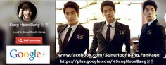 2) Website사이트 : Sung Hoon Tumblr 3) Website사이트 : Sung Hoon Facebook Fan page www.facebook.com/SungHoonBang.FanPage 4) Website사이트 : Sung Hoon Viki Channel 5) Website사이트 : Sung Hoon YOUTUBE Channel 6...