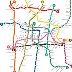 The World's Most Impressive Subway Maps