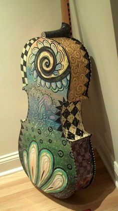 1000 Images About Instruments Painted On Pinterest