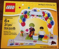 LEGO NEW Birthday Boy/Girl Clown Minifigure Cake Topper Favor Set Decoration NIB #LEGO
