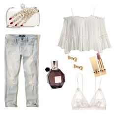 Designer Clothes, Shoes & Bags for Women Viktor Rolf, Pure White, Hollister, Alexander Mcqueen, Yves Saint Laurent, Pure Products, Polyvore, Stuff To Buy, Shopping