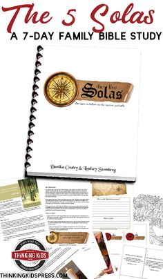 The Five Solas for Families The 5 Solas of the Reformation are slogans that help us remember important Biblical truths. Teach your family about the Five Solas! Parenting Articles, Parenting Books, Gentle Parenting, Peaceful Parenting, Parenting 101, Homeschool High School, Homeschool Curriculum, Homeschool Kindergarten, Homeschooling