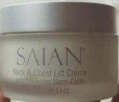 Neck and Chest Lift Creme  Saian Skin Care  Firming, lifting toning.  Excellent for sagging skin, wrinkles and jowl area.  Perfect for the breast area.  Save in the shopping cart  http://www.karinherzog-jmilan.com/neck-and-chest-lift-creme-saian-skin-care3.3-oz-Karinherzog-jmilan.com