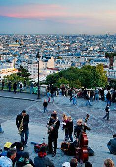 Montmartre Hill - Paris