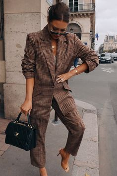 Fall Fashion Outfits, Mode Outfits, Work Fashion, Winter Outfits, Womens Fashion, Paar Style, Business Outfit Frau, Luxe Clothing, Mode Chanel