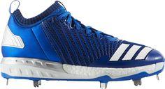 best service 9314e 4c729 adidas Men s Boost Icon 3 Metal Baseball Cleats, Size  10.5, Blue Metal  Baseball