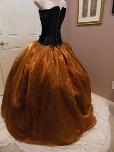 Ballgown Organza Skirt by Violet Castle Costumery