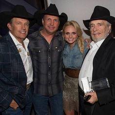 George Strait, Garth Brooks, Miranda Lambert & Haggard