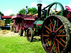 2007 Dreadnought | Being used for Steam Threshing, a process that involves the separation of grain from the stalk and husks.