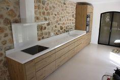 Afficher l'image d'origine Marble Countertops, Kitchen Countertops, Granite, Modern Decor, Kitchen Decor, Sweet Home, Bathtub, House Design, Pure Products