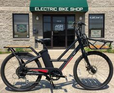 Instagram picutre by @adamsolar: Turn every trip into a fun ride with the IZIP Metro #eBike the new #GroceryGetter.  Includes integrated front basket and rear rack.  48v battery with a powerful 500w hub motor.  Pedal and throttle assist.  ON SALE NOW at Adam Solar Rides - Shop E-Bikes at ElectricBikeCity.com (Use coupon PINTEREST for 10% off!)