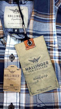 Hallinger #hangtag