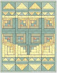 This website is in a foreign language, but there are several ideas for heart quilts, with patterns for paper piecing.