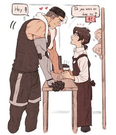 Voltron Sheith <<< repinning this again to add a comment: there is no WAY shiro is THAT big OR keith is THAT small