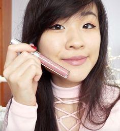 ColourPop x Hello Kitty Tiny Chum Ultra Satin Lip on asian skin