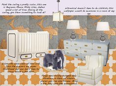 Nursery Design by Peppermint Bliss • The Wise Baby