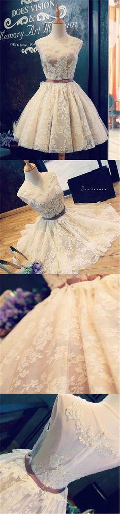 Short Homecoming Dress, Sleeveless Homecoming Dress, Tulle Homecoming Dress, Lovely Junior School Dress, Applique Homecoming Dress, Knee-Length Homecoming Dress, LB0715