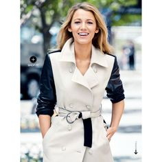 Blake Lively by Patrick Demarchelier for Lucky Magazine September 2013 ❤ liked on Polyvore featuring blake lively, people, backgrounds and models