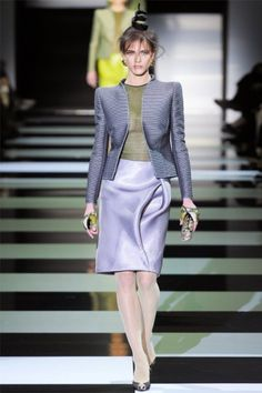 more BEAUTIFUL fabrics and designs - Giorgio Armani dreamed up a sultry, siren-like vision for the Armani Privé spring 2012 collection