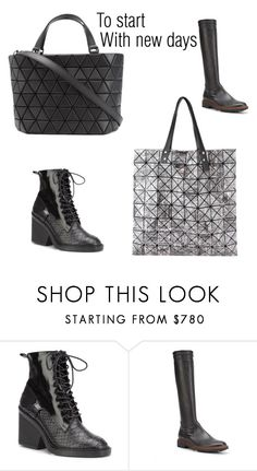 """""""To start"""" by anastasia-boutique ❤ liked on Polyvore featuring Bao Bao by Issey Miyake"""