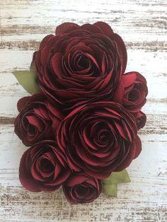 Fabric Flower Brooch  25 $ USD