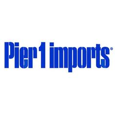 Pier 1 Imports Logo Sign