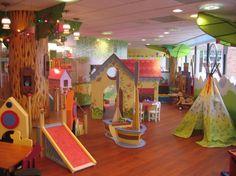 Playville Photo Playground Design, Indoor Playground, Children Playground, Play Spaces, Kid Spaces, Daycare Design, Playroom Design, Indoor Play Areas, Kids Cafe