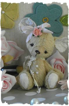 Mindy the little vintage baby mouse. by forrestfairy on Etsy