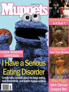birth control monster | ... always be Cookie Monster, but me will no longer be a cookie monster