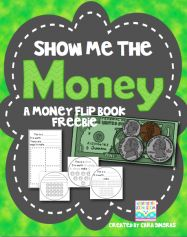 Money Flip Book FREEBIE - Show Me The Money - Covers the dime, penny, nickel, quarter, and dollar. Teaching Money, Teaching Kindergarten, Teaching Ideas, Preschool, Teaching Career, Teaching Activities, Learning Games, Teaching Resources, Money Activities