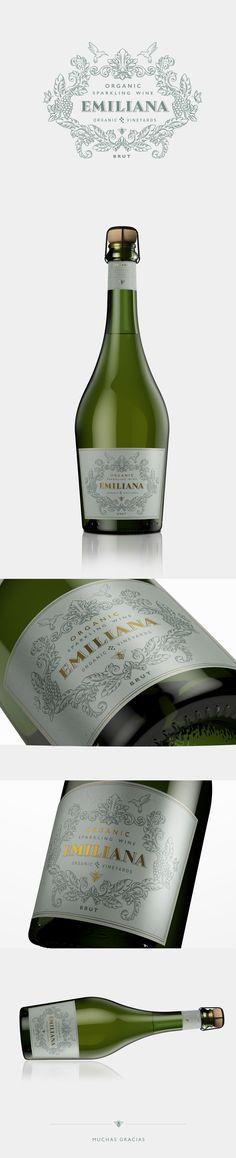 Label / Organic Sparkling Wine | EMILIANA