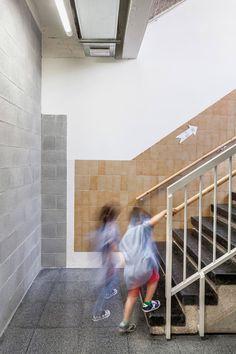 H Arquitectes Upgrades 1950s School Building With New Facade