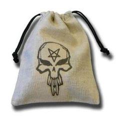 Q-Workshop: Skull Dice Bag in Linen Q Workshop http://www.amazon.com/dp/B001D0OSFY/ref=cm_sw_r_pi_dp_Z5gjvb1E9MAJW