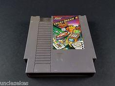 Vegas Dream NES Nintendo Entertainment System 1990