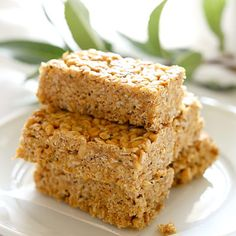 Chewy 5-Ingredient No Bake Peanut Butter Bars Recipe on Yummly. @yummly #recipe