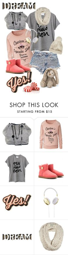 """""""Untitled #417"""" by jecas24 on Polyvore featuring STELLA McCARTNEY, Sincerely, Jules, UGG Australia, Anya Hindmarch, Frends, AllSaints and Topshop"""