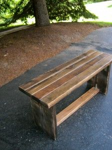 Wooden Bench by decurtis a mano