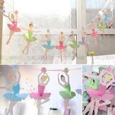 Ballerina Decorations Birthday Party