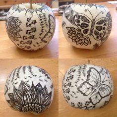 Manzanas de cerámica