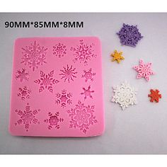 Specifications TypeBaking Molds Set of4 ApplicationFor #Chocolate, For Cookie, For Cake MaterialsSilicone Product Dimensions7.3*6.4*1.5cm Net Weight (kg)0.189kg Shippi... #silicone #lace #mold #sugar #mould #diy #fondant #chocolate #mat #bakeware #tools #star