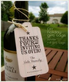 Attention 2 Detail: Fourth of July Printable Thank You Tags
