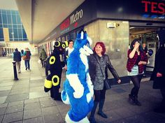 🍃Tesco adventures! XD🇬🇧 • • • #furry #furries #furryfandom #devcon #con #convention #fun #plymouth #fursuit #fursuiter #fursuiting #fursuitmaker #friends #wolf #dog #costume #cosplay #animal #fursona #furryfriends #tesco #shop #shopping