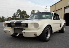 1966 Ford Mustang HSR Racer. Find parts for this classic beauty at http://restorationpartssource.com/store/