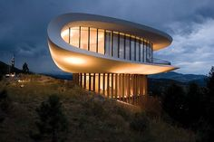 The Sculptured House atop Genesee Mountain in Golden, Colorado is easily considered a modern day Sleeping Beauty. A bit radical even for its time, the Sculptured House, known to many locals as the Sleeper House, the Spaceship House, and/or the Clamshell, was designed by the late Charles Deaton, a renowned architect