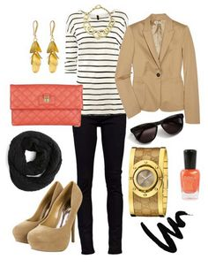 Outfit color combo + blazer